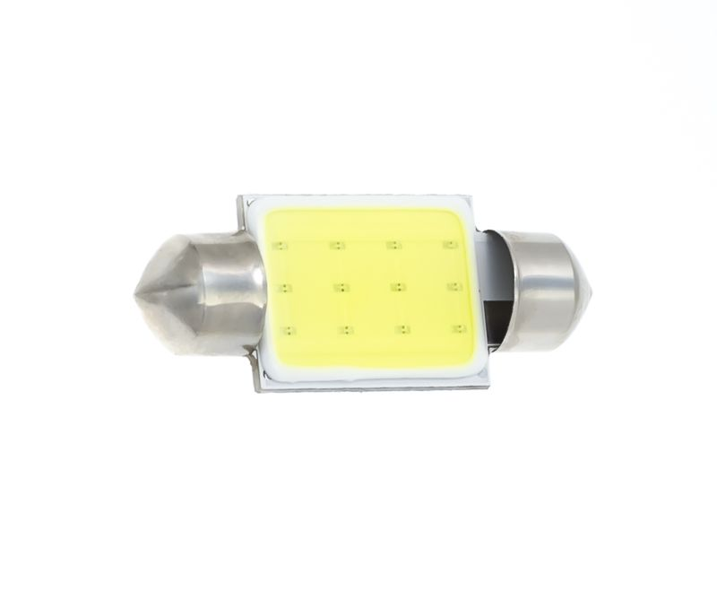 (C10W)-T11-12v-FT-COB-12chip 31mm, 10 шт.